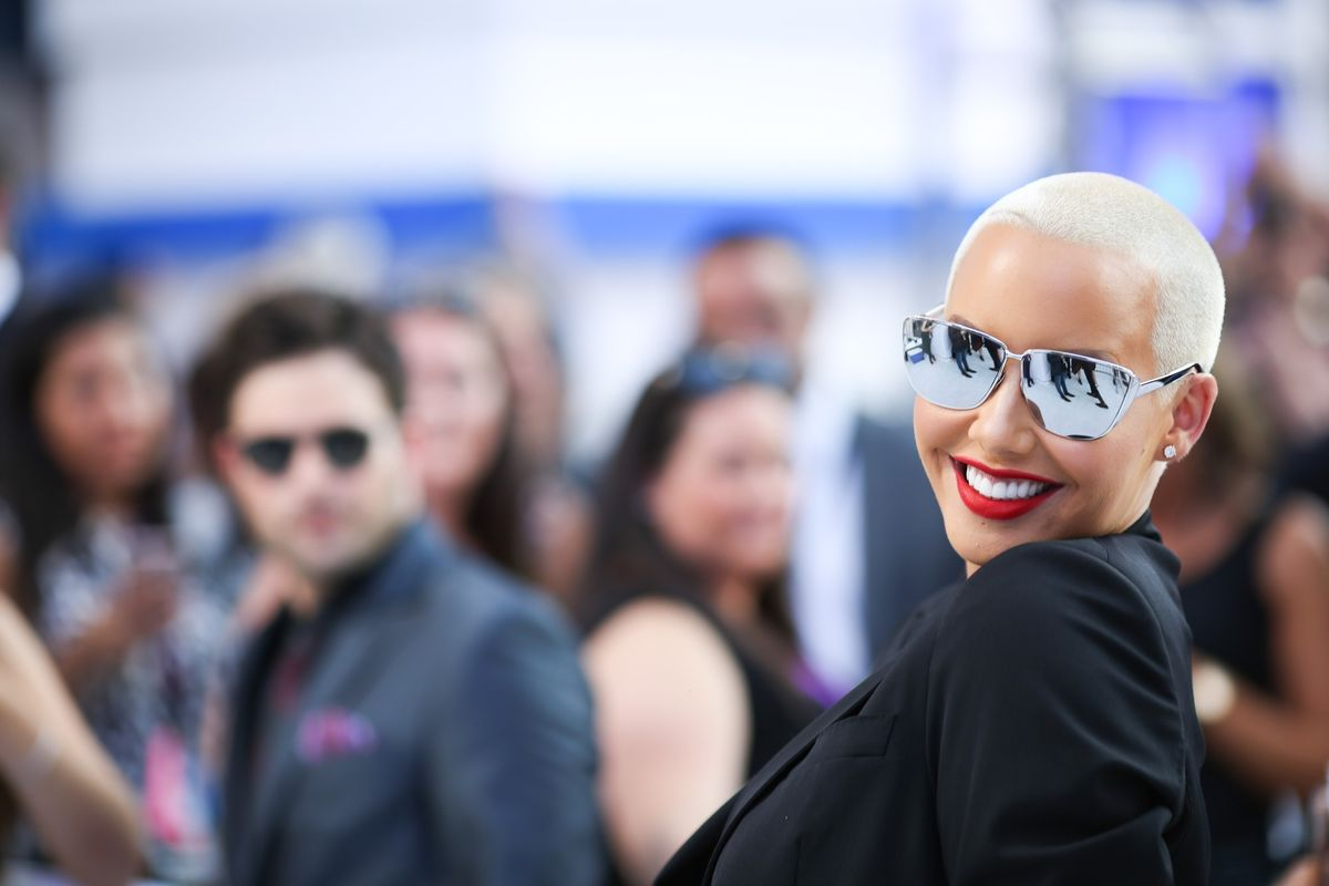 Amber Rose Says Masturbation Is The Key To Glowing Skin