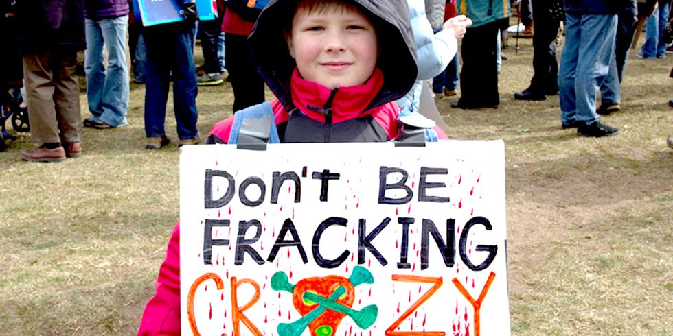 650,000 Children in 9 States Attend School Within 1 Mile of a Fracking Well