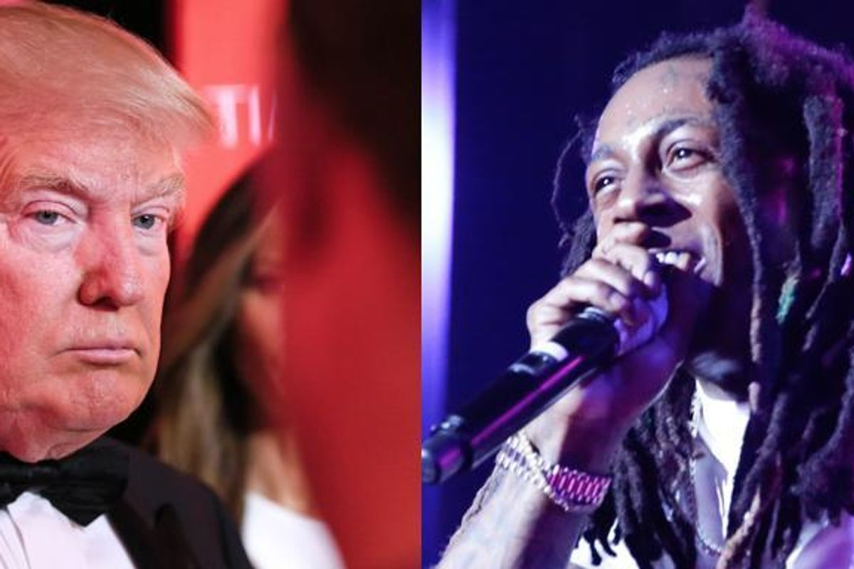 Lil Wayne Doesn't Know Who Donald Trump Is