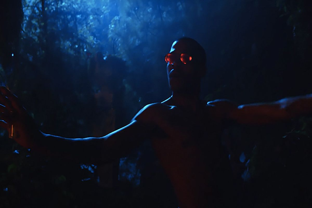 """Kid Cudi's Self-Directed Video For """"Frequency"""" Is A Sexy Fever Dream"""