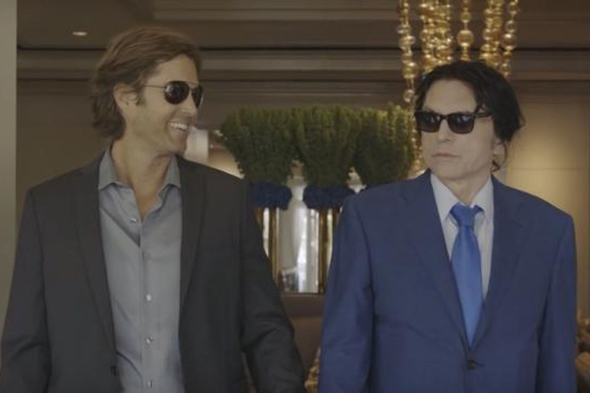 """Tommy Wiseau Of """"The Room"""" Fame Is Back With A Buddy Thriller About Teeth-Stealing Morticians"""