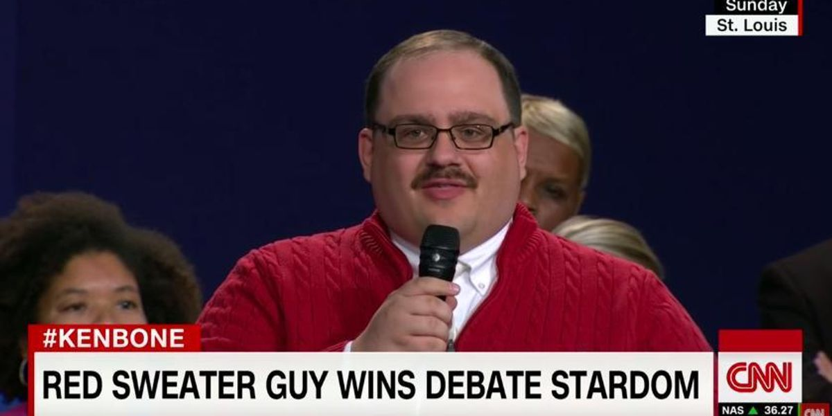 Ken Bone's Icky Internet Activity Was Dug Up, Of Course