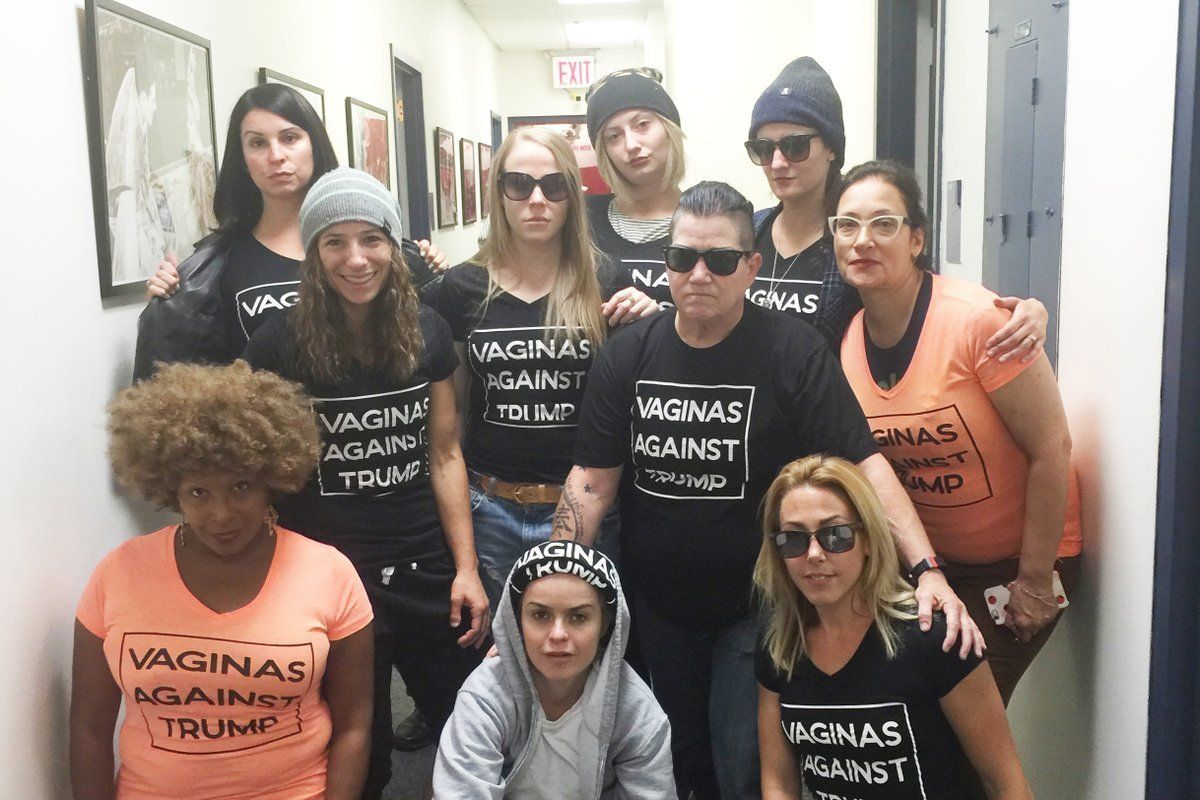 The Cast of OITNB Join the Anti-Trump Crew