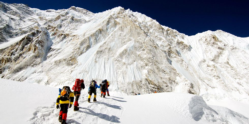Join the World's Top Climbers as They Ascend Mount Everest