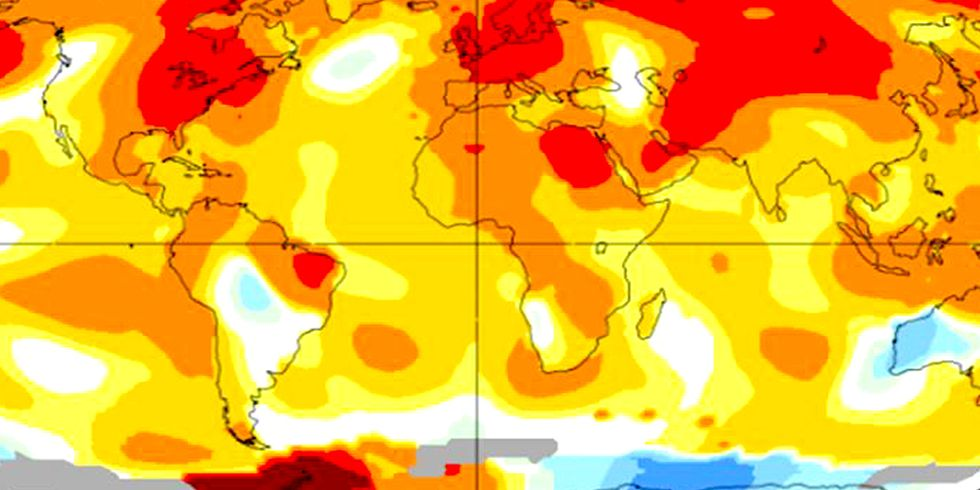 NASA: September Temps Warmest in 136 Years