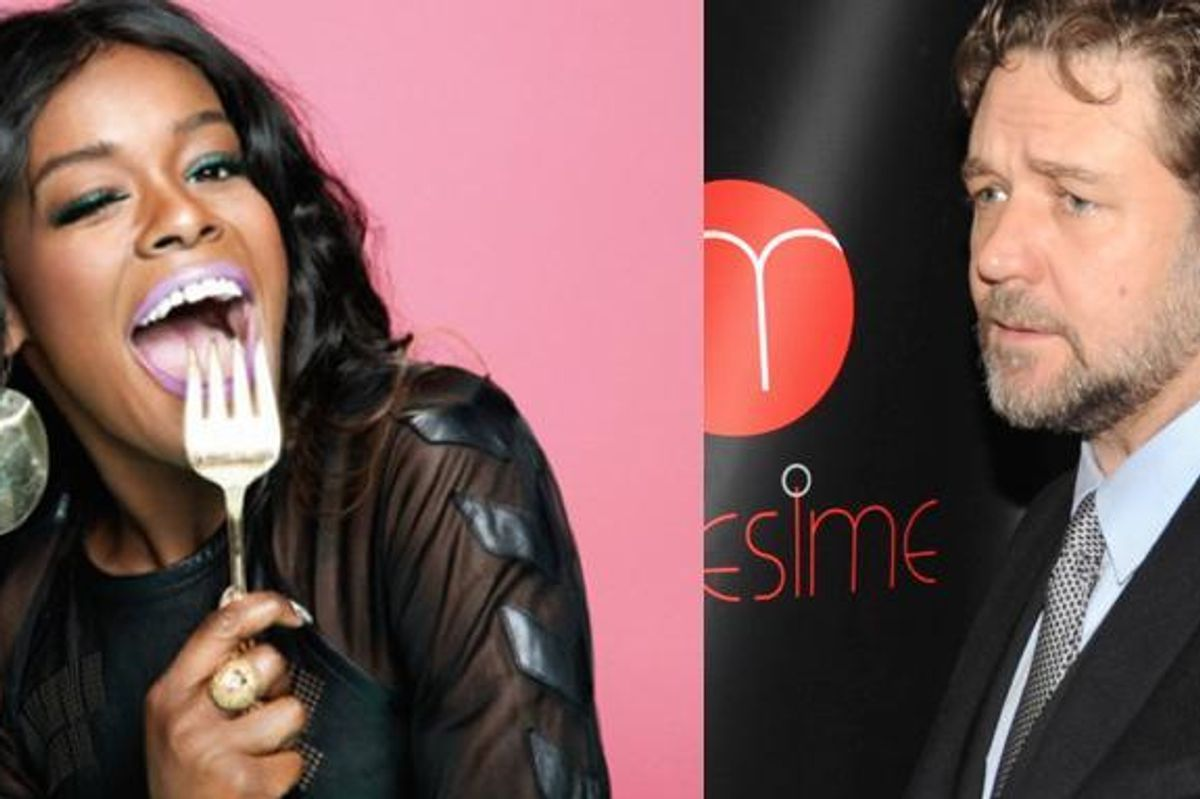 Azealia Banks Allegedly Threatened To Assault Russell Crowe [UPDATED]