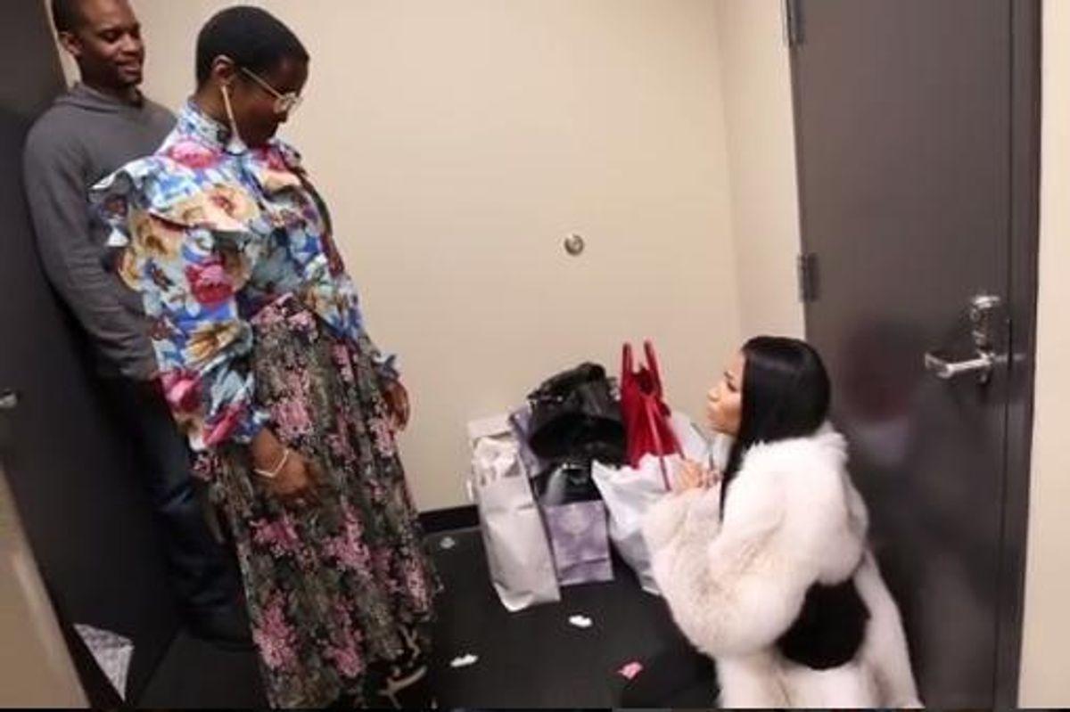 Nicki Minaj Had An Adorable Fangirl Meltdown When She Met Lauryn Hill