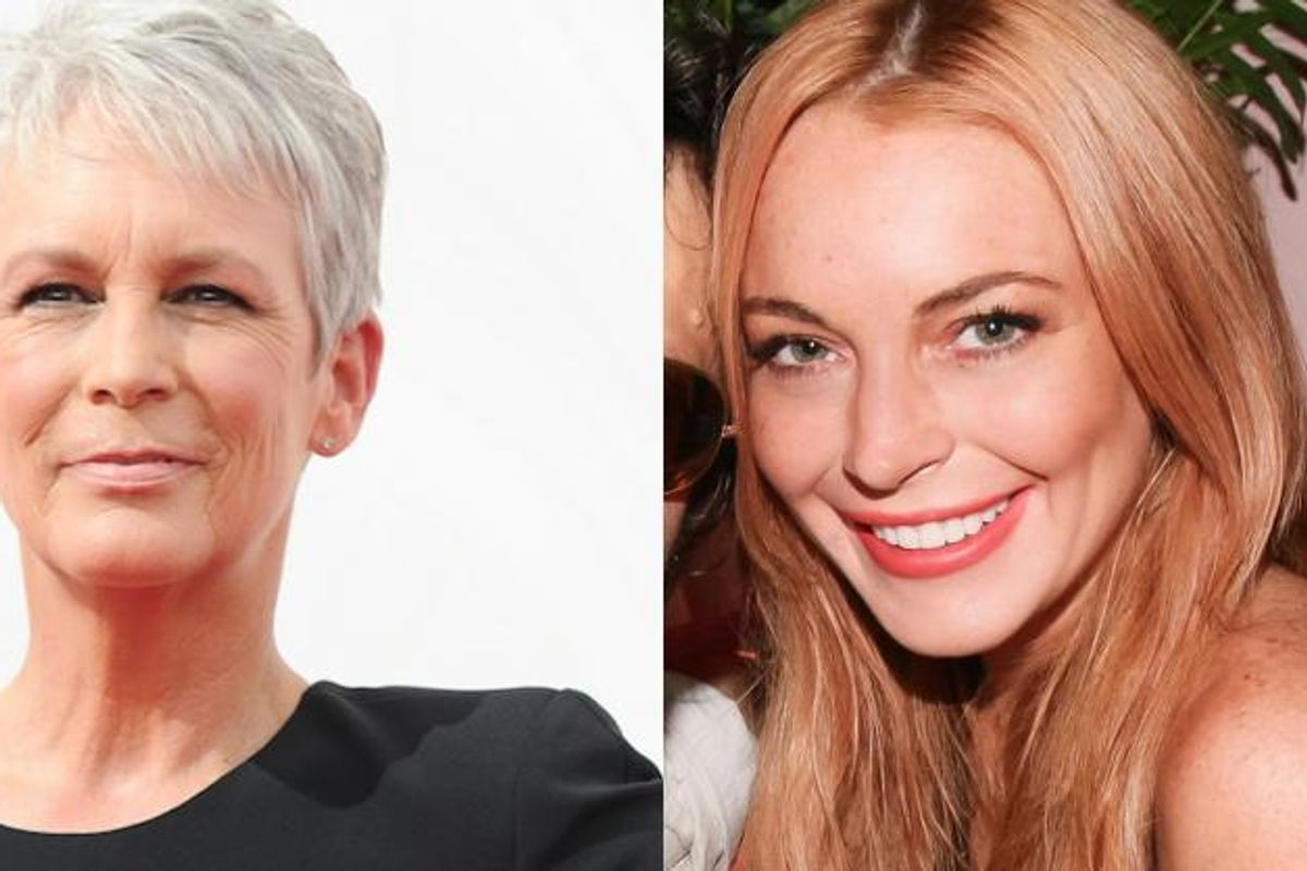 Jamie Lee Curtis Defends Lindsay Lohan Over Trump's Unbelievably Demeaning Comments About Her In 2004