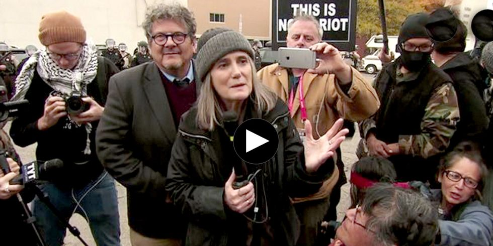 Judge Rejects 'Riot' Charges Against Amy Goodman for Coverage of Dakota Access Pipeline