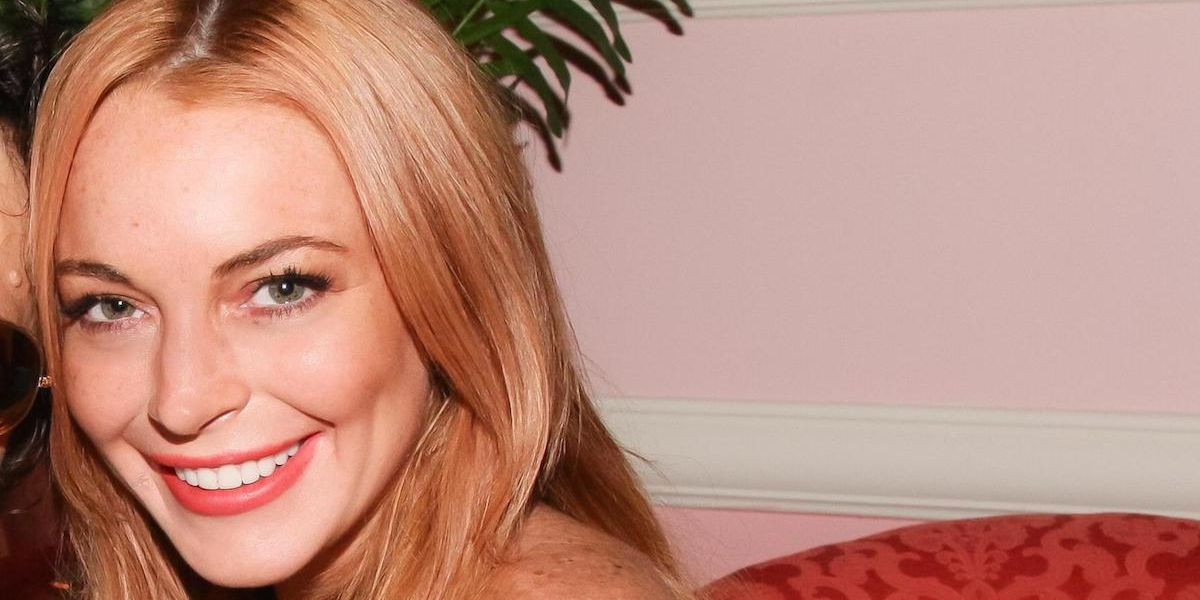 Lindsay Lohan To Supply Syrian Refugees With Energy Drinks, Because Sure