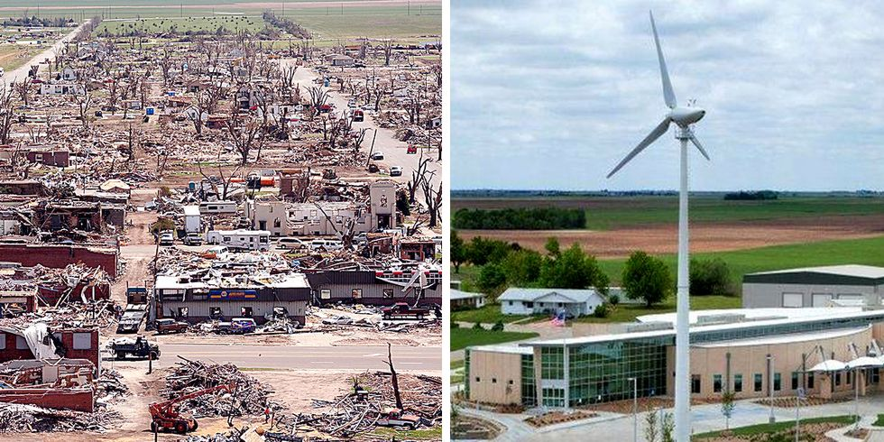 Kansas Town Decimated by Tornado Now Runs on 100% Renewable Energy, Should Be Model for Frack-Happy State
