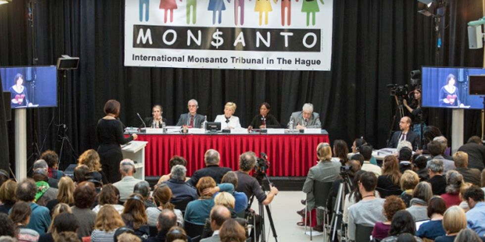 5 Renowned Judges Heard 30 Witnesses Describe Crimes Against Humanity at Monsanto Tribunal