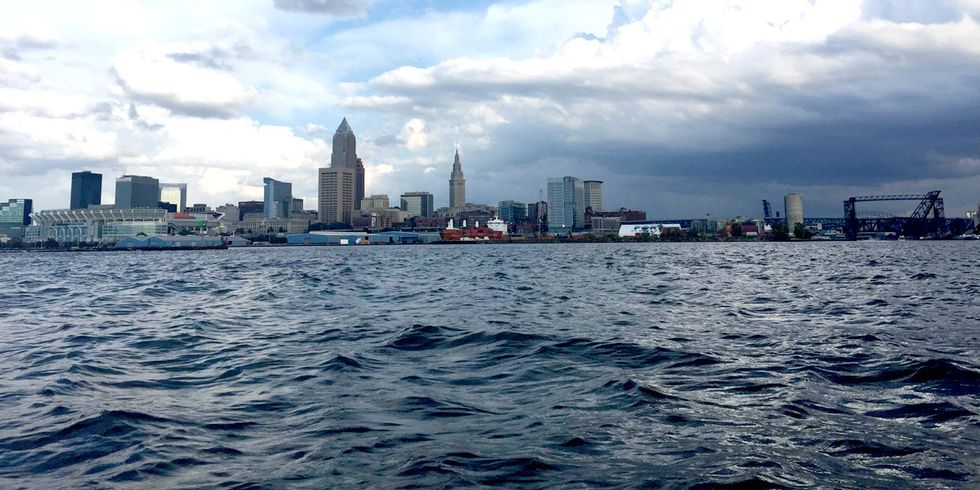 Toxic Blob Spreading Across Lake Erie, Could Put Cleveland's Drinking Water at Risk