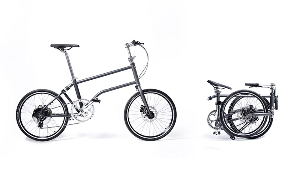 World's First Self-Charging, Folding Electric Bike Never Runs Out of Juice