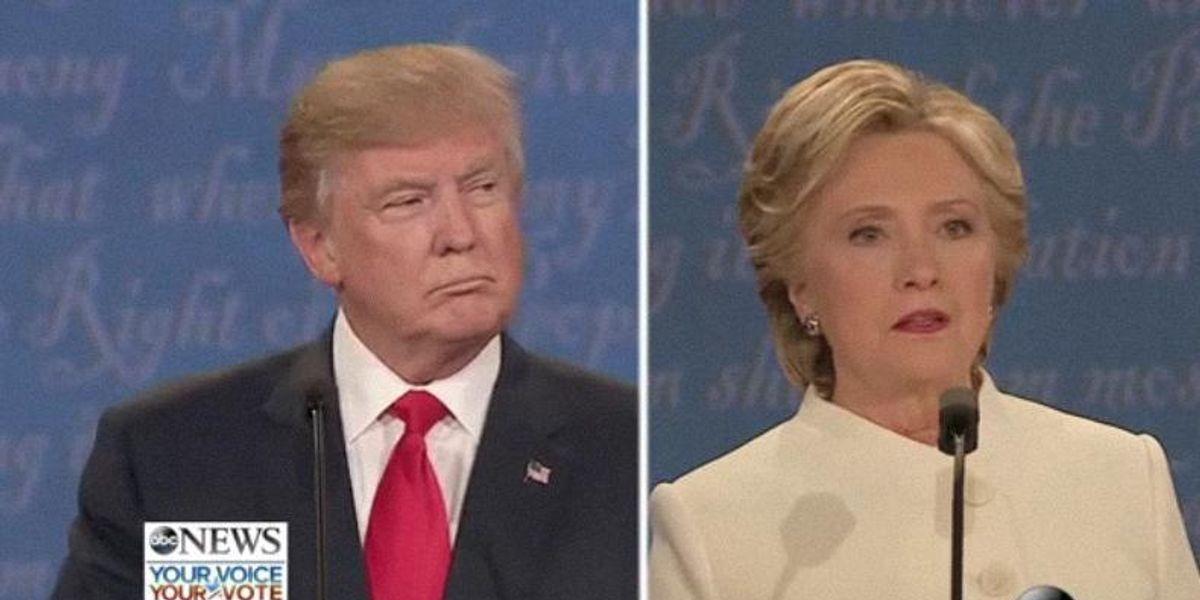 Donald Trump Interrupted Hillary Clinton 37 Times In Last Night's Debate