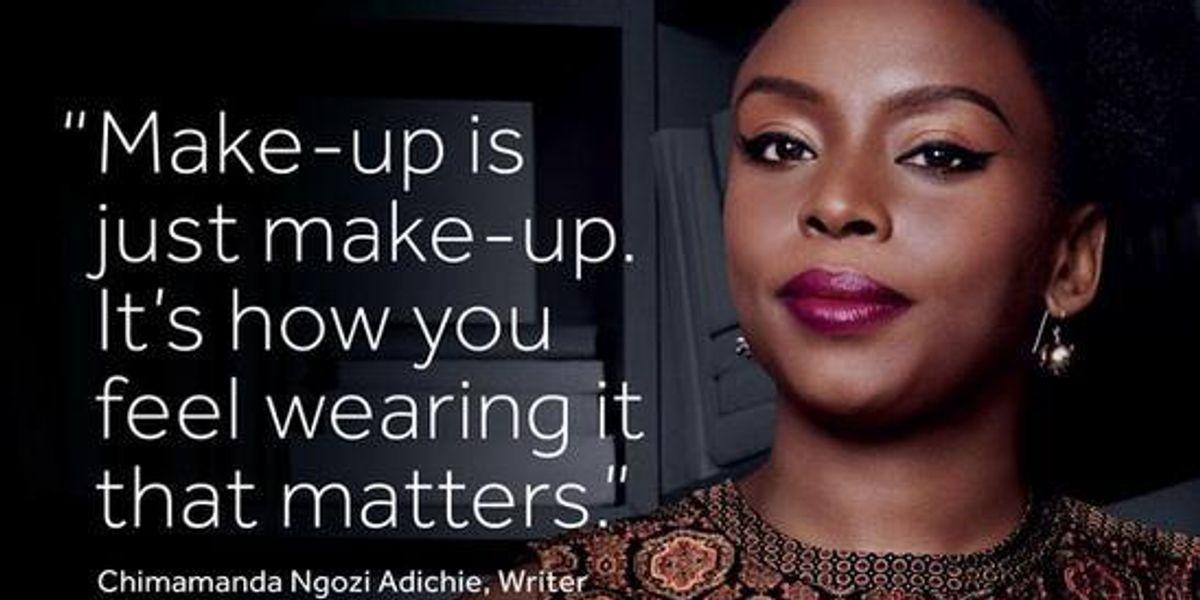 Chimamanda Ngozi Adichie Is The New Face of Boots No7 Makeup