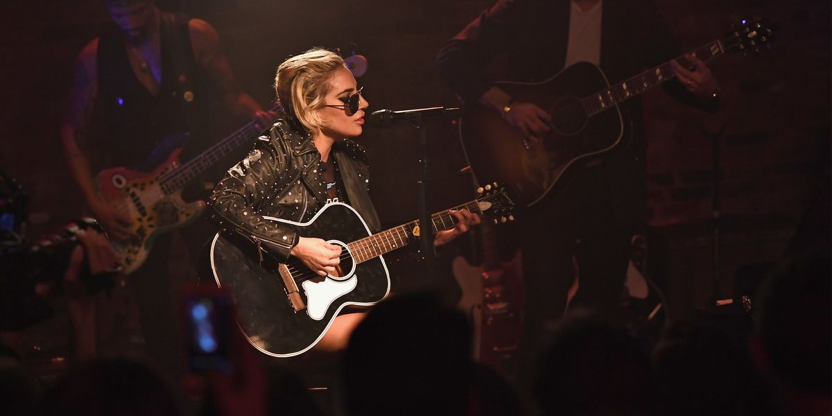 Lady Gaga Brought Her Bud Light Dive Bar Tour to NYC Last Night