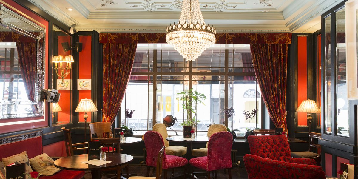 Peep Inside London's Gorgeous L'Escargot, Soho
