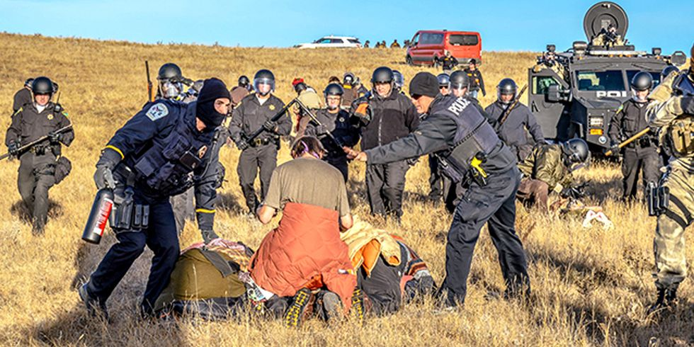 83 Arrested at Dakota Pipeline Protest, Frontline Camp Erected on Unceded Territory