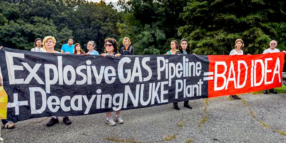 15 Arrested Protesting Spectra Pipeline Scheduled to Go Online Nov. 1