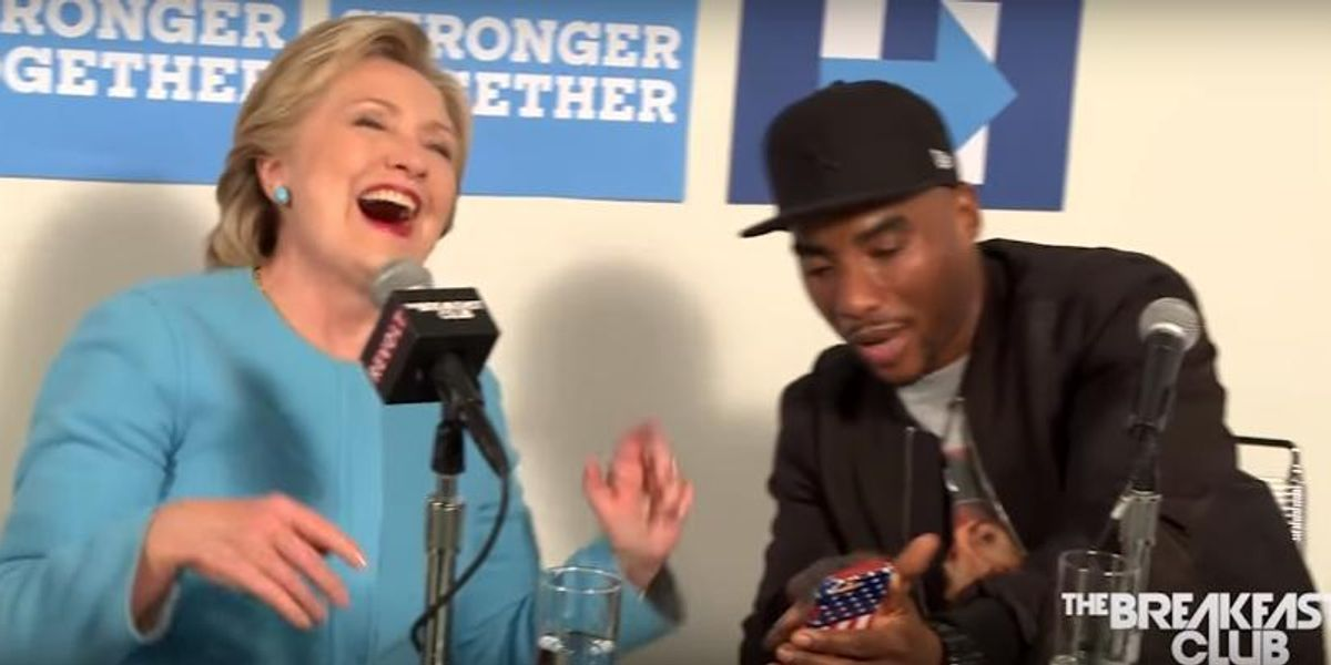 Hillary Clinton Loves That Death Row Records Meme