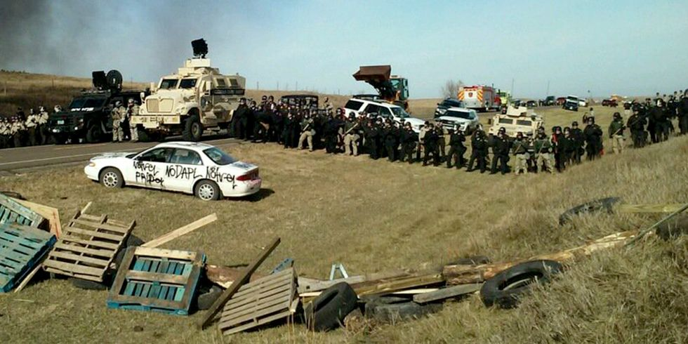 141 Arrested During Police Raid of Camp Halting Construction of the Dakota Access Pipeline