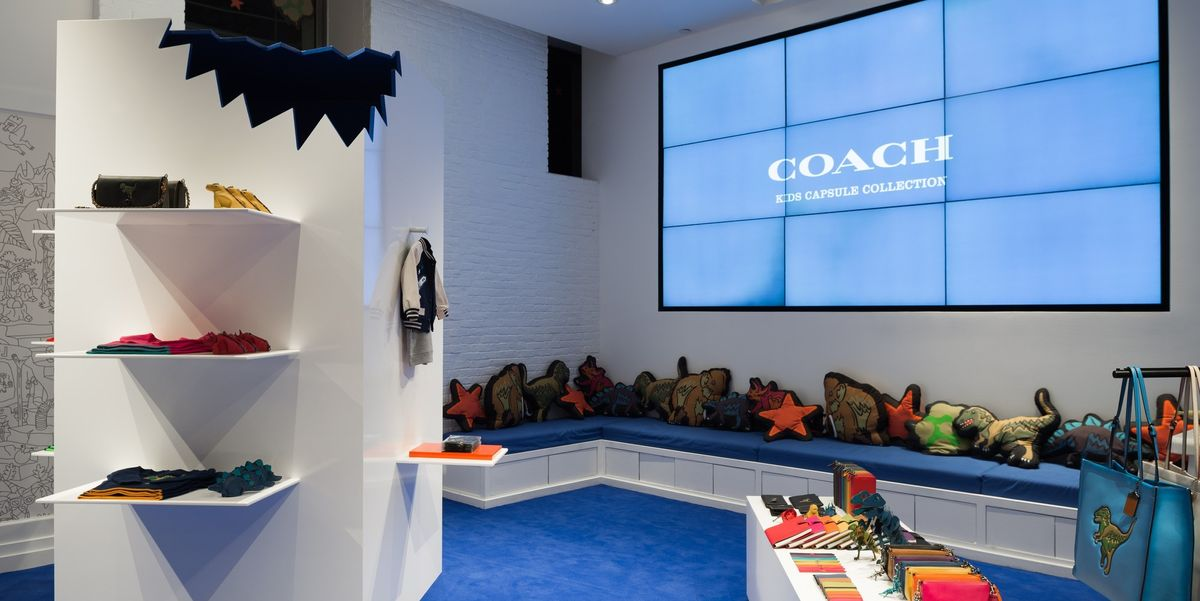 Colette and Coach Go Back to the Dinosaurs in New Kids Collaboration