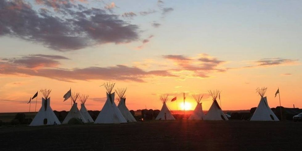 1 Million People 'Check In' on Facebook to Support Dakota Access Pipeline Protesters