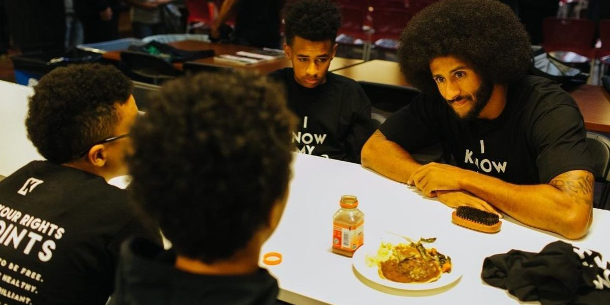 Colin Kaepernick Has A New, Black Panthers-Inspired Camp Educating Underprivileged Youth About Their Rights