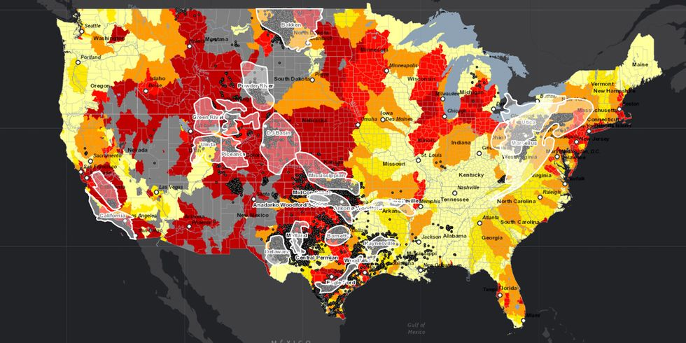 How Fracking Impacts Water-Stressed Regions