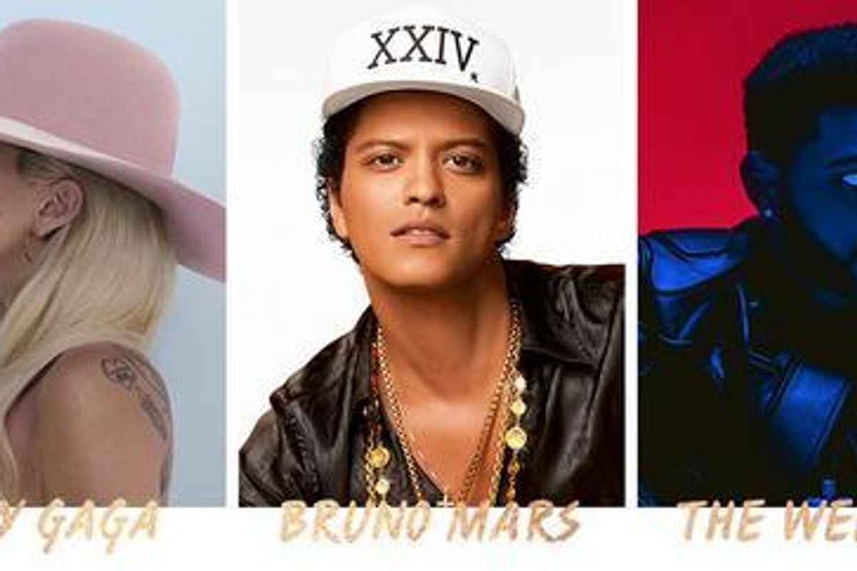 Lady Gaga, The Weeknd, and Bruno Mars Are All Set To Perform At The Victoria's Secret Fashion Show