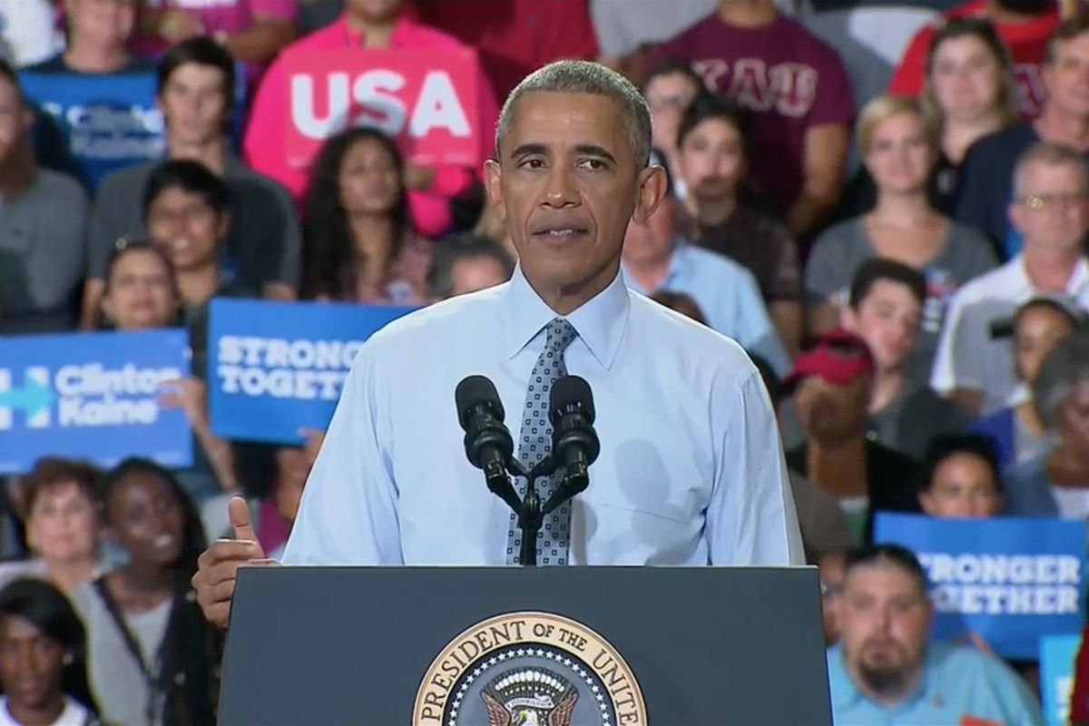 Obama Calls On Men To Check Their Sexist Biases Before Voting
