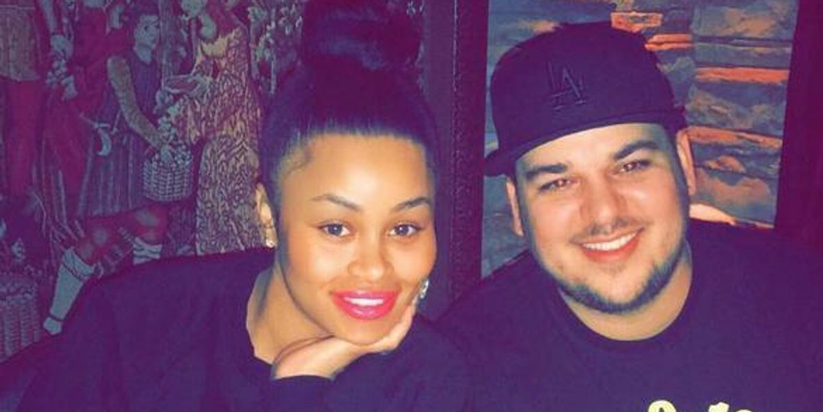 Rob Kardashian and Blac Chyna Are Televising Their Baby's Womb Exit