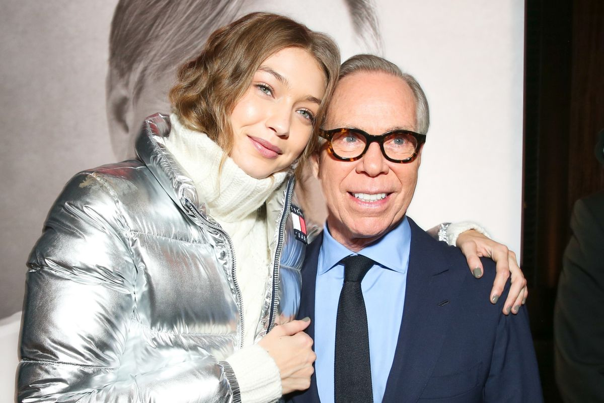 Tommy Hilfiger's Team Put Gigi Hadid In A Poncho Because She Wasn't As Tall And Thin As Other Models