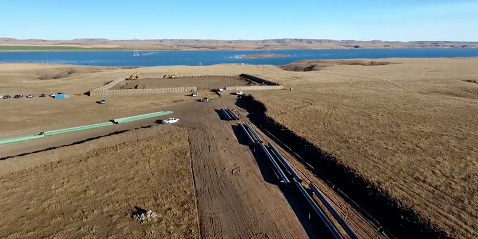 Drone Footage Shows Dakota Access Pipeline Company Ignored Request to Halt Construction on Disputed Land