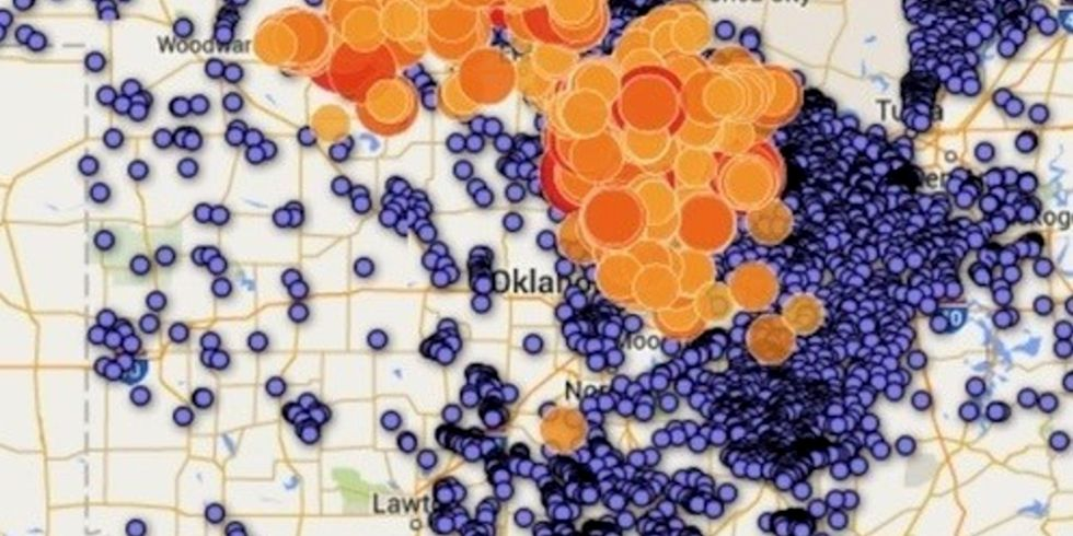Oklahoma's Latest Fracking-Related Earthquake Sparks Demand for Withdrawal of Oil and Gas Leases