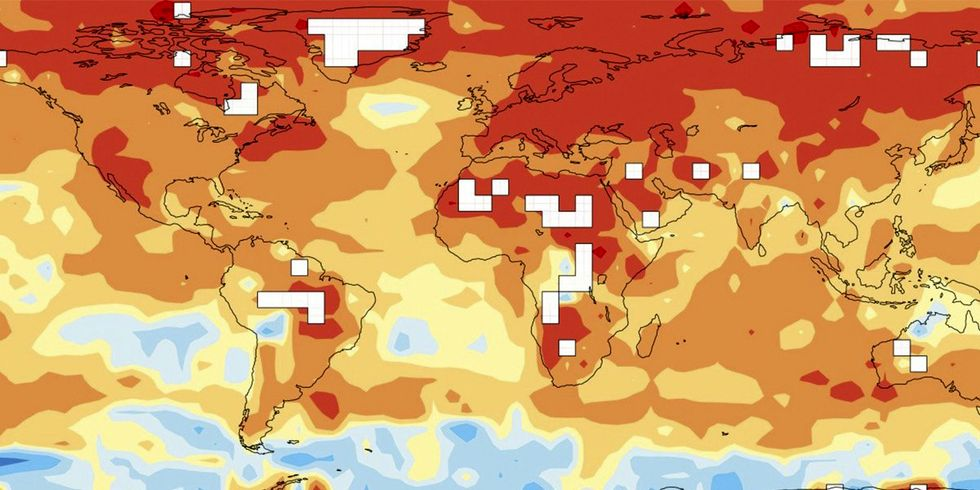 Last 5 Years Hottest on Record, Human Footprint 'Increasingly Visible'