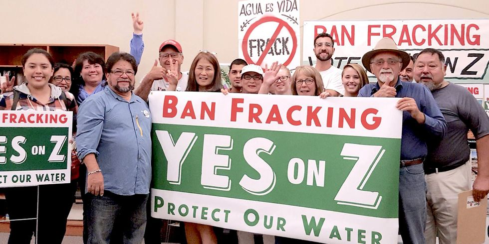 Monterey Becomes California's First Major Oil-Producing County to Ban Fracking
