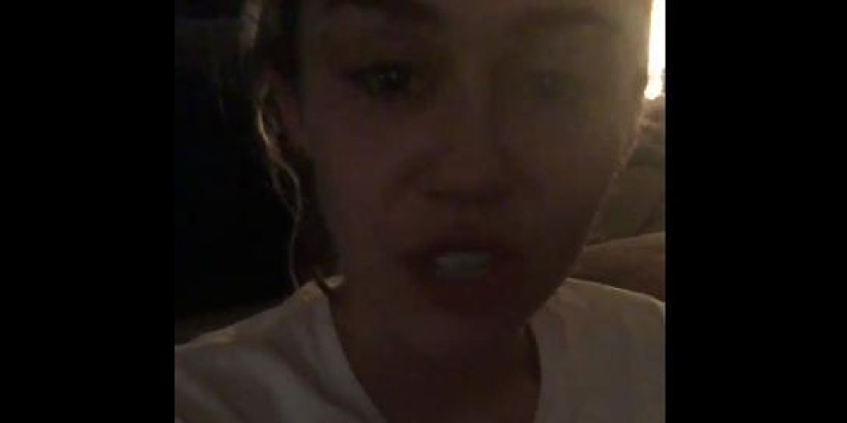 Miley Cyrus Goes Through Every Stage of Grief In Post-Election Twitter Video