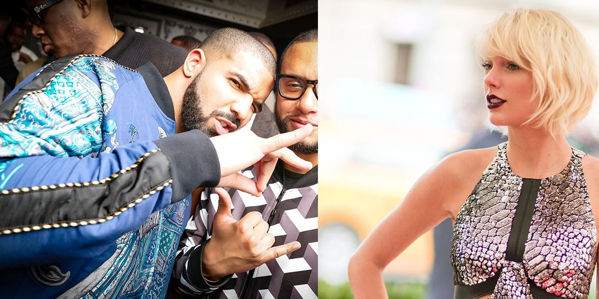 """Taylor Swift Reportedly Taps Drake to Give Her Songs an """"Edgier Hip-Hop and R&B"""" Vibe"""