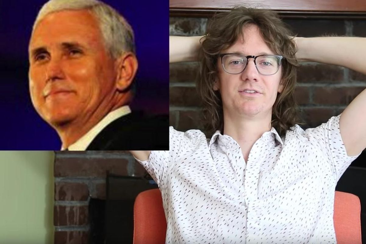 This Comedian's Election Silver Lining: Making Sweet Love to Mike Pence