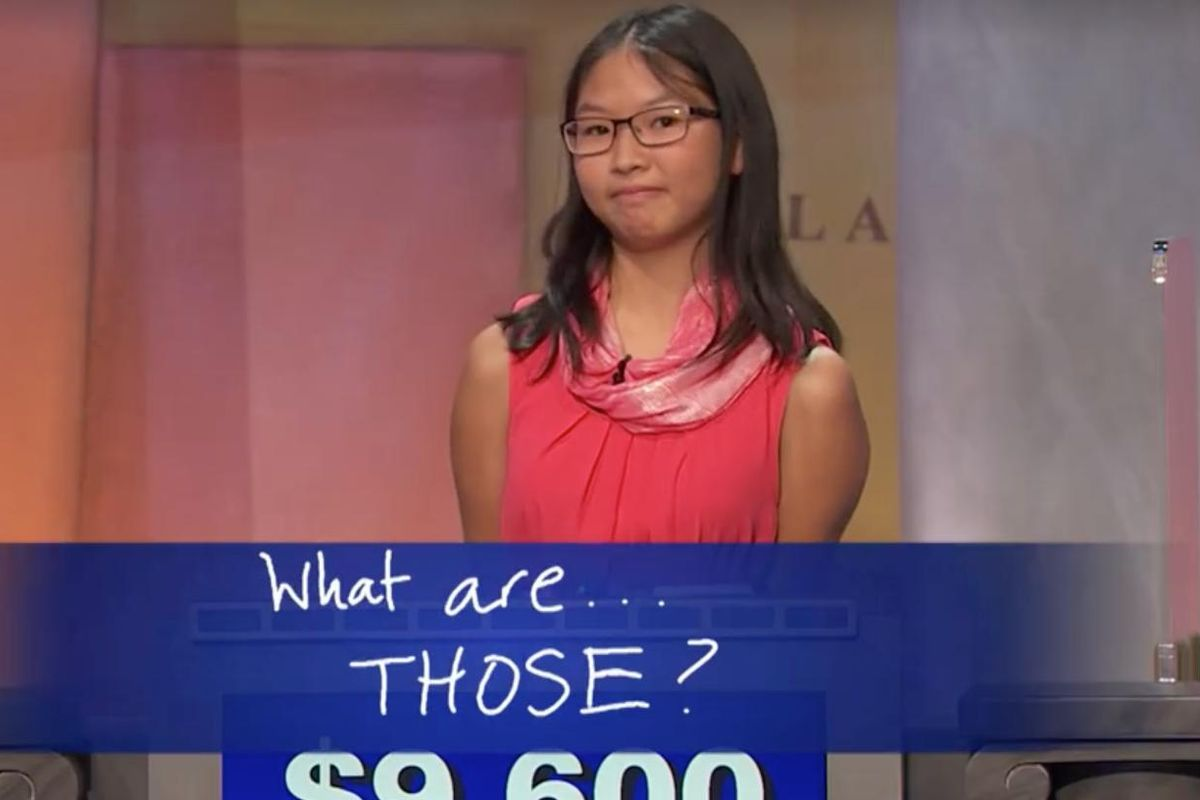 """Watch A Teen Meme Queen Win """"Jeopardy"""" With One Incredible Final Answer"""