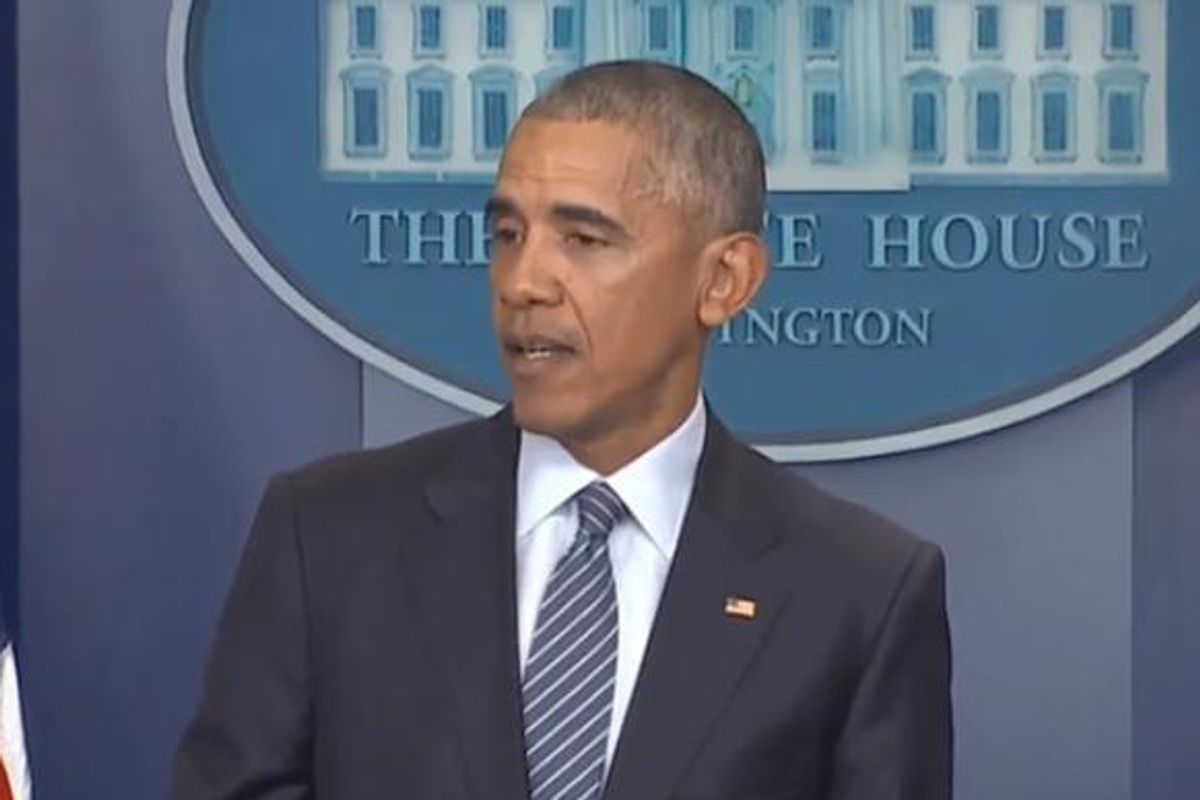 Watch President Obama's Post-Election Press Conference