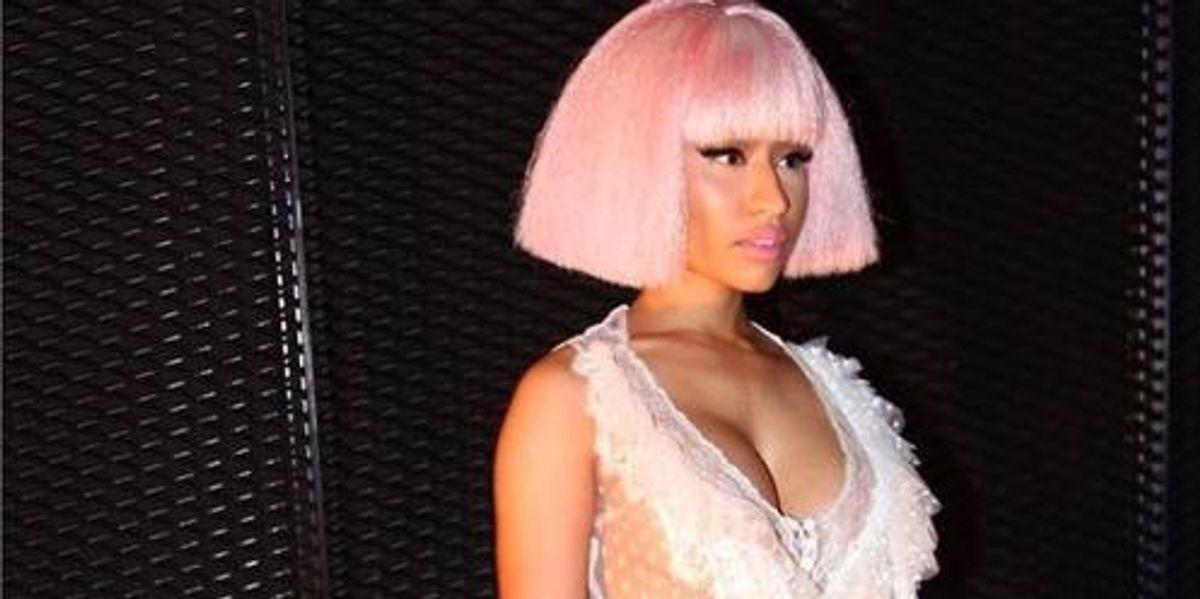 "Listen To Nicki Minaj's Remix Of Rae Sremmurd's ""Black Beatles"""