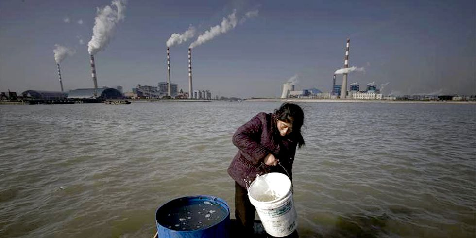 29% of Water Deemed Unsuitable for Human Consumption in China's Top Coal Province