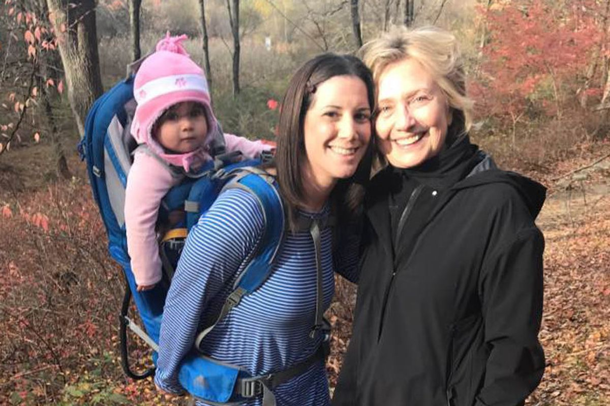 The Woman Who Posed With Hillary Clinton While Hiking Is Getting Death Threats