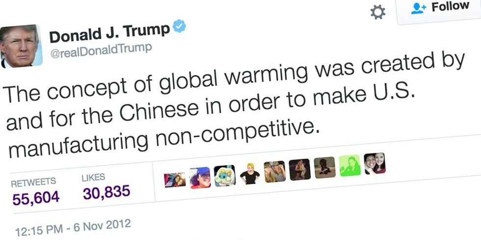 China to Trump: No, We Didn't Invent Climate Change