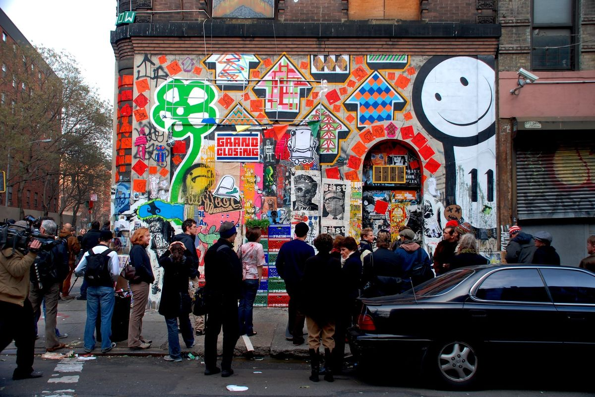 """Notes From the Underground: Looking Back at Street Art's Peak in """"Eleven Spring"""""""