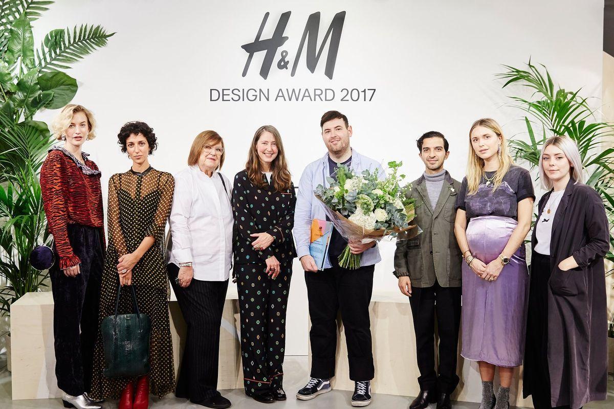 Designer Richard Quinn Wins H&M's 2017 Design Award
