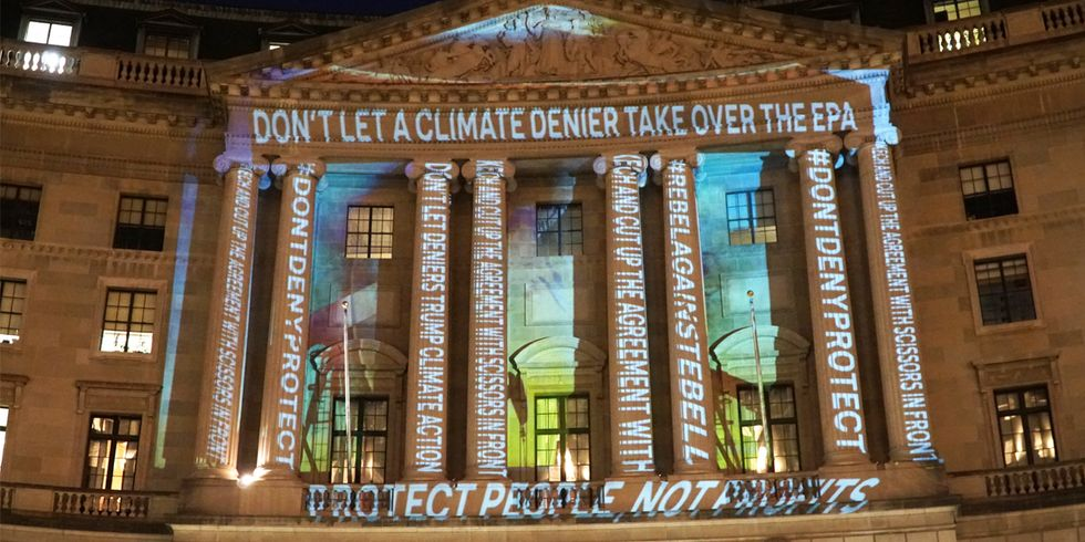 'Don't Let a Climate Denier Take Over the EPA'